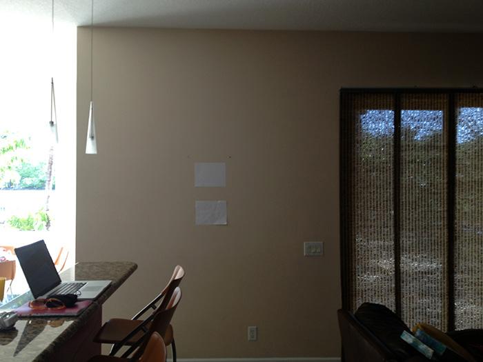 home decor before